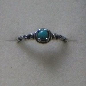 Carolyn Pollack Turquoise Stack Ring